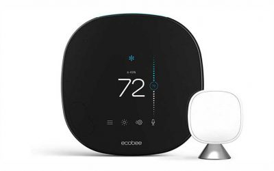 Enjoy your days with Ecobee Smart Thermostat